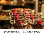 dessert buffet hotel | Shutterstock . vector #1072645907