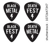rock fest black and death metal ... | Shutterstock .eps vector #1072647347