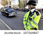London  Uk   March 12  A Polic...