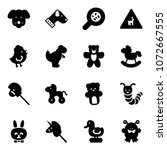 solid vector icon set   dog...   Shutterstock .eps vector #1072667555