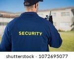 digital composite of rear view...   Shutterstock . vector #1072695077