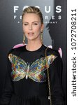 charlize theron at the los... | Shutterstock . vector #1072708211