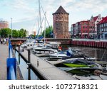 gdansk  poland. 12 june 2017 ... | Shutterstock . vector #1072718321