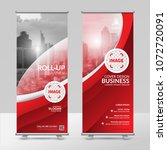 business roll up design... | Shutterstock .eps vector #1072720091