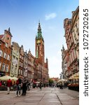 gdansk  poland  18 april 2018... | Shutterstock . vector #1072720265