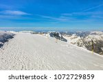 a wintertime view from mt.... | Shutterstock . vector #1072729859