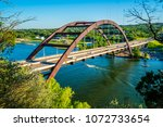 perfect view of the pennybacker ... | Shutterstock . vector #1072733654