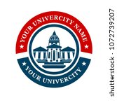 education university logo | Shutterstock .eps vector #1072739207