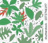 botanical seamless pattern....   Shutterstock .eps vector #1072746197