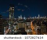 aerial view of midtown... | Shutterstock . vector #1072827614