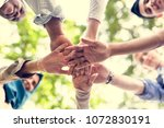 Group Of Diverse Youth With...
