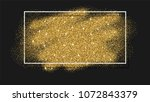 abstract background with gold...   Shutterstock . vector #1072843379