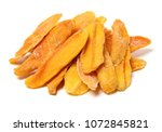 mango. dry mango on the... | Shutterstock . vector #1072845821