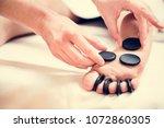 spa salon therapy treatment | Shutterstock . vector #1072860305