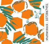 tropical  animal motif....   Shutterstock .eps vector #1072867451