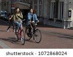 amsterdam  holland   14 april... | Shutterstock . vector #1072868024