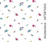 abstract  avant garde pattern... | Shutterstock .eps vector #1072871021