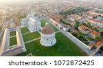square of miracles  pisa....   Shutterstock . vector #1072872425