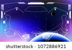 hud futuristic elements user... | Shutterstock .eps vector #1072886921