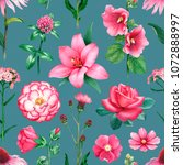 watercolor illustrations of... | Shutterstock . vector #1072888997