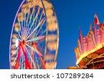 Ferris Wheel Movement Blurs...