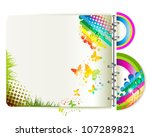 colorful background with... | Shutterstock .eps vector #107289821