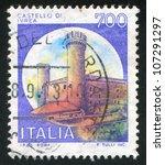 italy  circa 1980  a stamp... | Shutterstock . vector #107291297