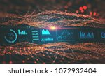 hud interface and global... | Shutterstock . vector #1072932404