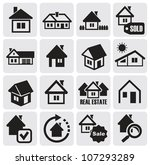 real estate set | Shutterstock .eps vector #107293289