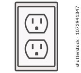 Grounded Power Outlets Symbol....