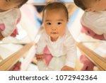 baby for nursery school | Shutterstock . vector #1072942364