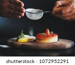 close up master chef hands... | Shutterstock . vector #1072952291
