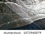 ice lines close up  natural... | Shutterstock . vector #1072960079