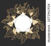 art deco elegant template ... | Shutterstock . vector #1072961924