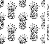 seamless pattern with... | Shutterstock .eps vector #1072967624