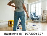 people renovating the house | Shutterstock . vector #1073006927