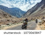 leh  ladakh  india   july 10 ... | Shutterstock . vector #1073065847