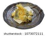tempura  homemade on white  | Shutterstock . vector #1073072111