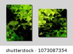 light green vector cover for...