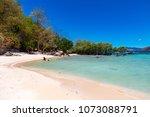 coron palawan philippines april ...   Shutterstock . vector #1073088791