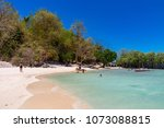 coron palawan philippines april ...   Shutterstock . vector #1073088815