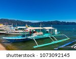 coron palawan philippines april ...   Shutterstock . vector #1073092145