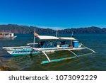 coron palawan philippines april ...   Shutterstock . vector #1073092229