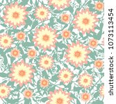 seamless pattern with simple...   Shutterstock .eps vector #1073113454