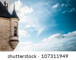 tower with window of the... | Shutterstock . vector #107311949