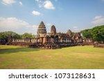 phimai historical park  one of... | Shutterstock . vector #1073128631