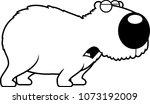 a cartoon illustration of a...   Shutterstock .eps vector #1073192009