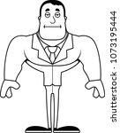a cartoon businessperson... | Shutterstock .eps vector #1073195444