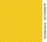 seamless pattern of yellow... | Shutterstock .eps vector #1073200079