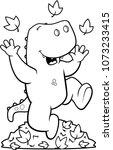 a cartoon illustration of a... | Shutterstock .eps vector #1073233415